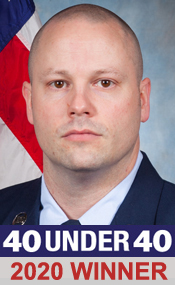 U.S. Air Force Master Sgt. Daniel Simpson, Cyber Operations and Planning Superintendent (40 under 40)